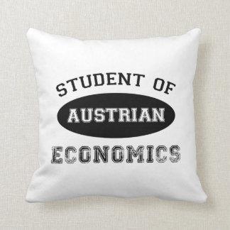 Student of Austrian Economics Throw Pillow