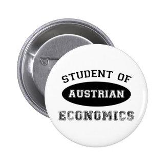 Student of Austrian Economics Pinback Button