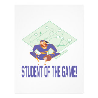 Student Of The Game Flyer Design
