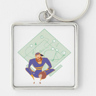 Student Of The Game Keychain