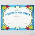 "Student of the Month<br><div class=""desc"">Custom Certificates</div>"