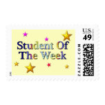 Student Of The Week Postage Stamp