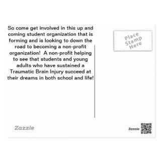 Student Organization Postcard