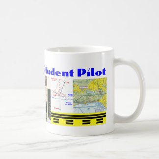 Student Pilot Classic White Coffee Mug