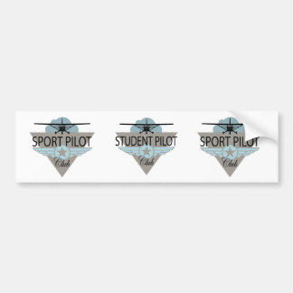Student Pilot Club Bumper Sticker
