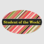 [ Thumbnail: Student Praise + Watermelon-Inspired Stripes Sticker ]
