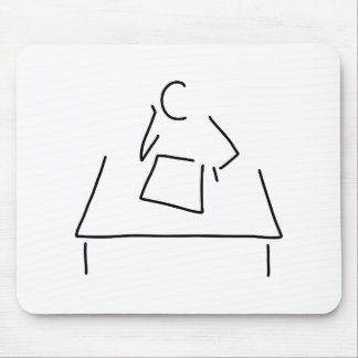student pupil philosopher learn mouse pad