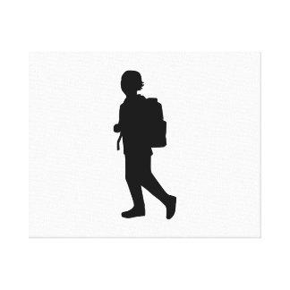 Student school kid canvas prints