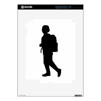 Student school kid decal for iPad 2