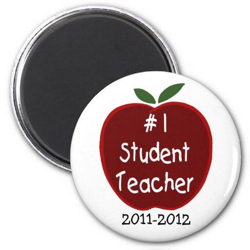 Student Teacher Magnet, with dedication