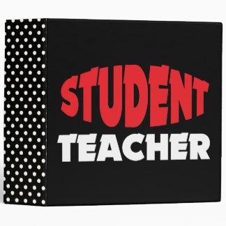 Student Teacher School Notebook Binder