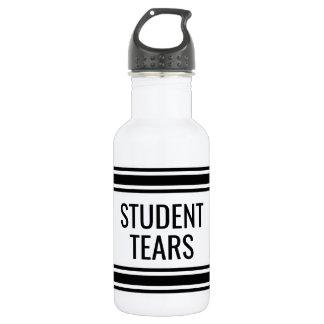 Student Tears - Funny Teacher Classroom Decor Water Bottle