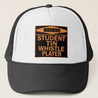 Student Tin Whistle Player Trucker Hat