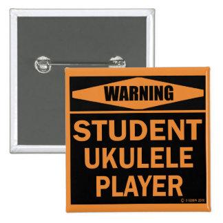 Student Ukulele Player Pin