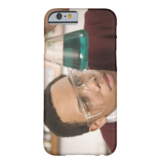 Student watching chemistry experiment barely there iPhone 6 case