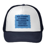 Student, worker and boss trucker hats