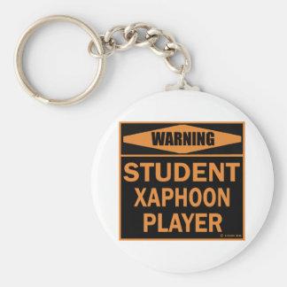 Student Xaphoon Player Keychains