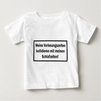 Studenten Vorlesungszeiten text icon Baby T-Shirt