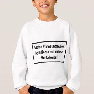 Studenten Vorlesungszeiten text icon Sweatshirt