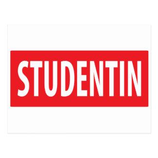 studentin icon postcard