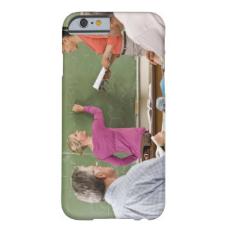 Students and teacher in classroom barely there iPhone 6 case