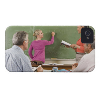 Students and teacher in classroom Case-Mate iPhone 4 case