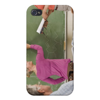 Students and teacher in classroom iPhone 4/4S cover