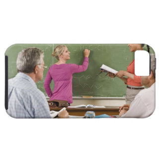 Students and teacher in classroom iPhone SE/5/5s case