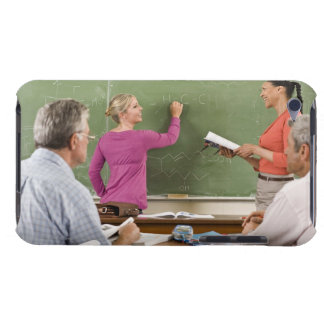 Students and teacher in classroom iPod Case-Mate case