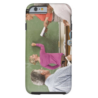 Students and teacher in classroom tough iPhone 6 case