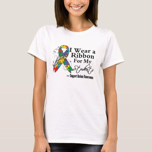 Students - Autism Ribbon T-Shirt