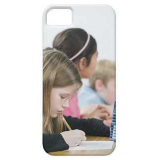 Students doing math work in classroom iPhone SE/5/5s case