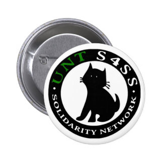 Students for a Stateless Society UNT Pinback Button