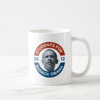 Students For Barack Obama 2012 Mugs