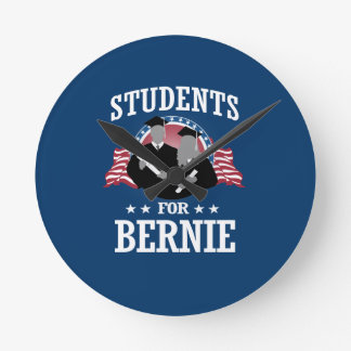 STUDENTS FOR BERNIE SANDERS ROUND CLOCK