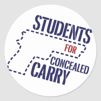 Students for Concealed Carry Logo Sticker