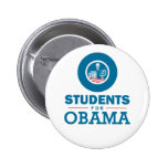 Students for Obama 2 Inch Round Button