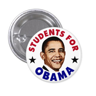 Students For Obama Button