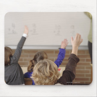 students in classroom mouse pad
