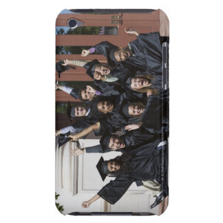 Students on graduation day iPod Case-Mate case