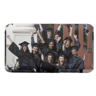 Students on graduation day iPod touch Case-Mate case