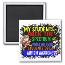 Students Rock The Spectrum Autism Magnet