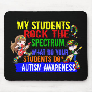 Students Rock The Spectrum Autism Mouse Pad