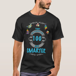 4f627d963 100 Days Smarter T-Shirts - T-Shirt Design & Printing | Zazzle