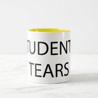 Students' tears Two-Tone coffee mug