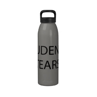 Students tears reusable water bottles