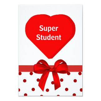 Student's Valentine Cards