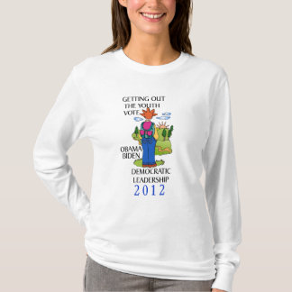 Students Voting For Barack Obama 2012 T-Shirt