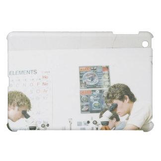 Students with Microscopes iPad Mini Cases