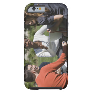 Students with professor tough iPhone 6 case